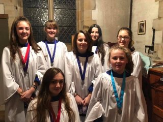 Junior Choir at St Oswald's